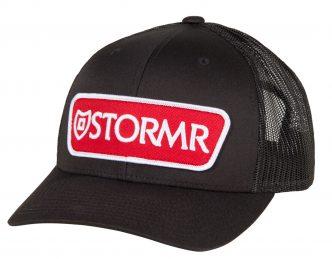 STORMR® Patch Mesh Hat Black