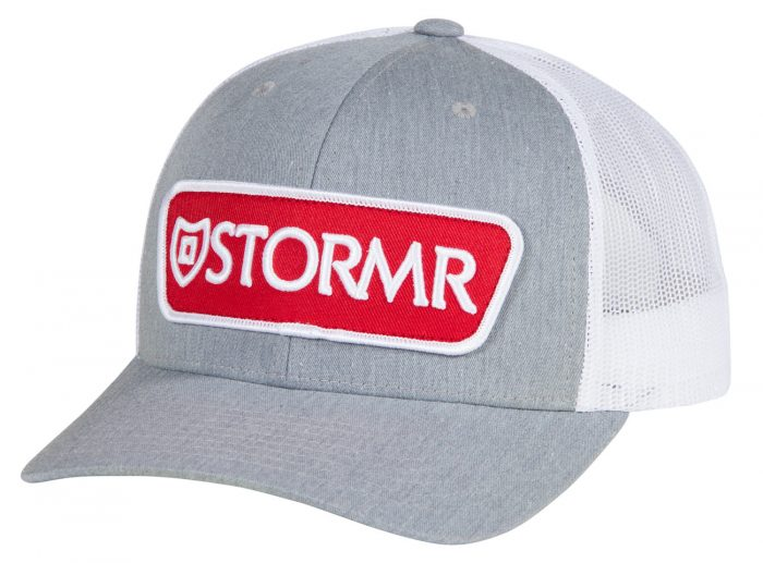 STORMR® Patch Mesh Hat Gray