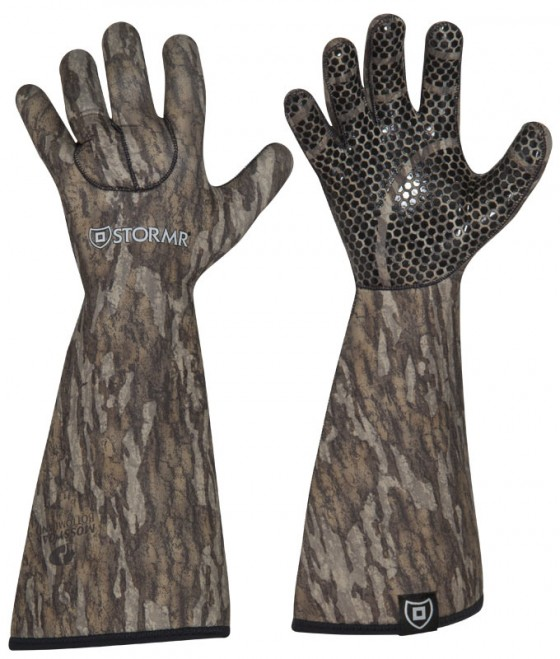 STORMR Stealth Gauntlet Glove RGC30G-MOB Color Mossy Oak Bottomland