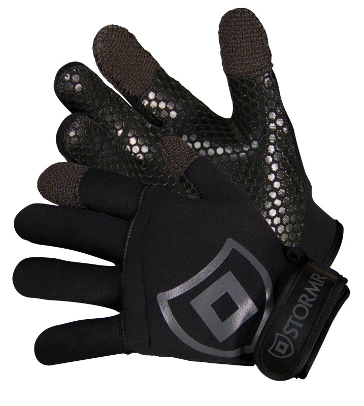 Stormr Cast Kevlar Neoprene Glove Black