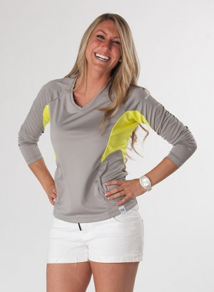 <strong>SALE!</strong> WOMEN&#8217;S UV SHIELD LONG SLEEVE Smoke