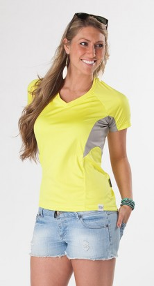 <strong>SALE!</strong> WOMEN&#8217;S UV SHIELD SHORT SLEEVE Lime